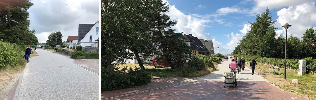 Strandweg St. Peter Ording